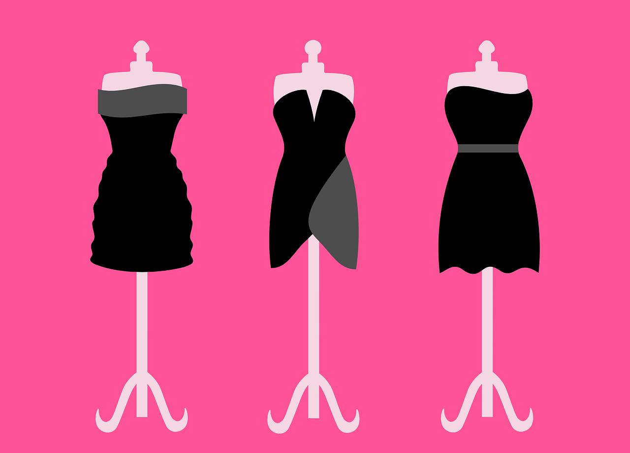 Tkaniny na sukienki