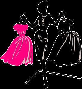 wybór tkaniny na sukienkę